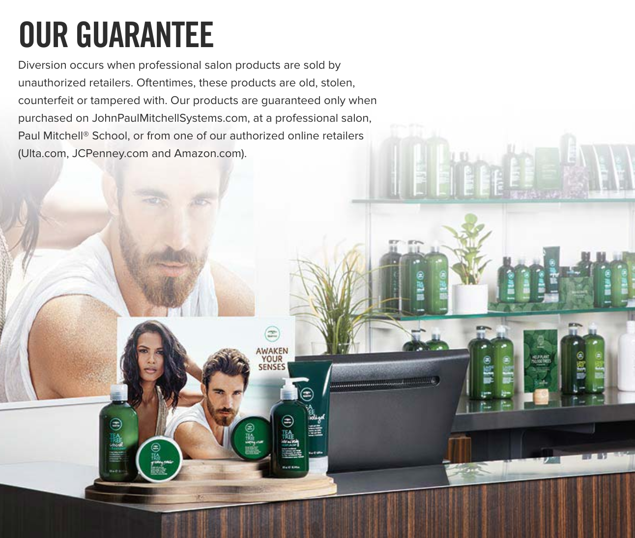 guarantee for haircare products